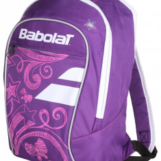 Club Line Backpack Girl 2017 Sports Bag for Kids violet-roz, Babolat