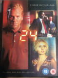 24 : SEASON ONE  ( 6 DVD :  BOX SET )   - FILM DVD  ORIGINAL, Politist, Engleza, universal pictures
