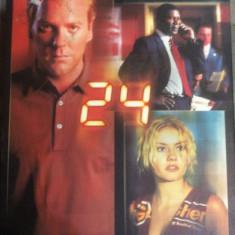24 : SEASON ONE  ( 6 DVD :  BOX SET )   - FILM DVD  ORIGINAL, Politist, Engleza, universal pictures