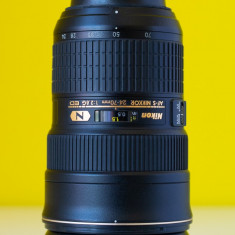 Obiective Nikon 14-24 f/2.8, 24-70 f/2.8 - Obiectiv DSLR