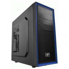 Carcasa ATX/mATX, Tesseract BF Black, fara sursa - Carcasa PC Deepcool