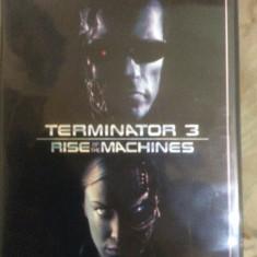 TERMINATOR 3 : RISE OF THE MACHINES - FILM DVD ORIGINAL - Film SF warner bros. pictures, Engleza