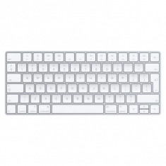 Tastatura Apple Wireless, ROM, compatibila iPad, iMac si Mac cu Bluetooth, culoare argintie (2015)