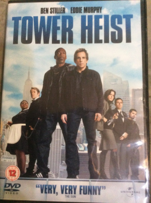 TOWER HEIST    - FILM DVD  ORIGINAL foto mare