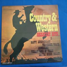 Muzica Country electrecord AND WESTERN / 2, VINIL