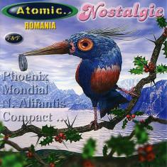 Compilatie Atomic Romania - Nostalgic (Phoenix, Iris, Semnal M) (1 CDr) - Muzica Rock