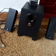 Sistem audio 2.1 Logitech x240 - Boxe PC