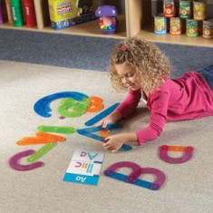 Sa construim alfabetul - Learning Resources - Jocuri Litere si Cifre