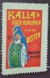 Austro Ungaria - Vigneta Fabrica de peste Kalla (Cehia - Schmiedeberg), Nestampilat