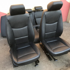 Scaune, interior piele BMW E91 cu incalzire si bancheta rabatabila - Scaune sport, 3 Touring (E91) - [2005 - 2013]