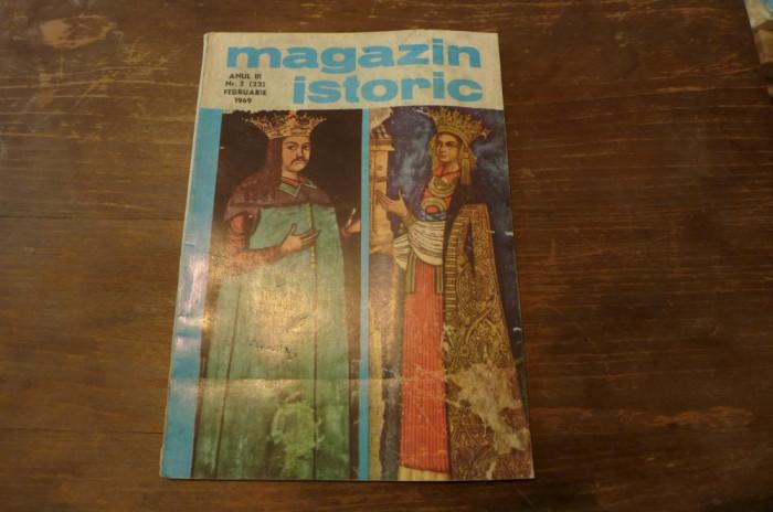 Revista magazin istoric anul III nr.2 februarie 1969 foto mare