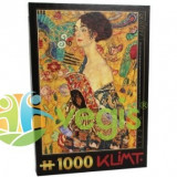 Puzzle 1000 Gustav Klimt - Lady With a Fan (66923-03)