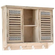Dulap suspendat vintage din lemn Havana - Comoda dormitor