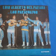 LUIS ALBERTO DEL PARANA SI LOS PARAGUAYOS /2, VINIL, electrecord