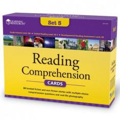 Carduri pentru intelegerea lecturii Learning Resources