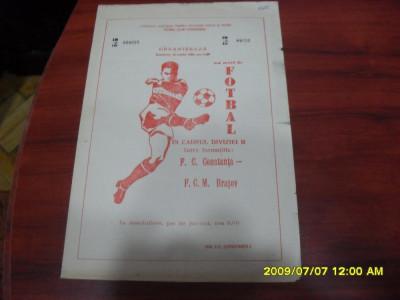 program          FC  Constanta   -  FCM  Brasov foto