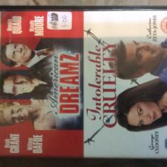 AMERICAN DREAM + INTOLERABLE CRUELTY  ( BOX 2 DISC ) - FILM DVD ORIGINAL, Engleza, universal pictures