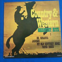 Muzica Country electrecord AND WESTERN / 1, VINIL