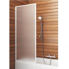 Paravan cada Aquaform Standard 1 un element mobil 65x129 cm poliester alb