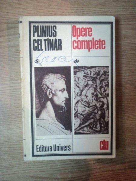 OPERE COMPLETE de PLINIUS CEL TANAR , 1977 foto mare