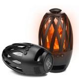 Boxa portabila Atmosphere BTS 596 Decorativa Felinar Bluetooth Negru