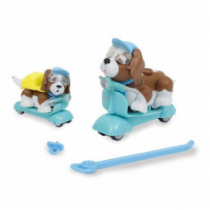 Jucarie Giochi Preziosi Pet Parade Family Catelusi pe scuter