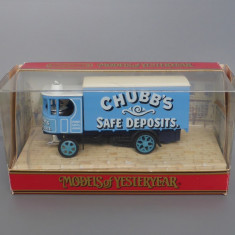Camion Garrett Steam Wagon 1929, Matchbox Yesteryear - Macheta auto Matchbox, 1:60