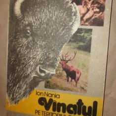 Vanatul pe teritorul Romaniei ( vanatoare )340pag/an 1991- Ion Nania