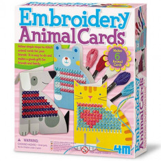 Set 4M Broderie Animale