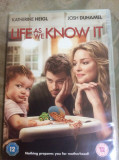 LIFE AS WE KNOW IT    - FILM DVD  ORIGINAL, Engleza, warner bros. pictures
