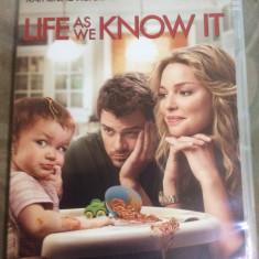 LIFE AS WE KNOW IT - FILM DVD ORIGINAL - Film romantice warner bros. pictures, Engleza
