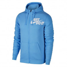 Bluza,Hanorac Nike Just Do It-Bluza Originala-Hanorac Barbati  886493-412, L, M, S, XL, XXL