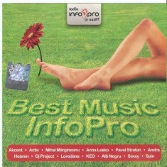 Compilatie Best Music Info Pro (Activ, DJ Project, Akcent, Andra) (1 CD) - Muzica Pop mediapro music