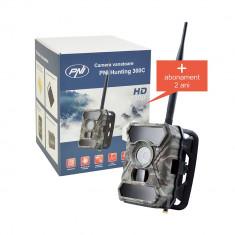 Aproape nou: Camera vanatoare PNI Hunting 300C cu INTERNET + abonament 2 ani intern