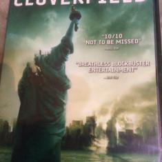 CLOVERFIELD - FILM DVD ORIGINAL - Film actiune paramount, Engleza