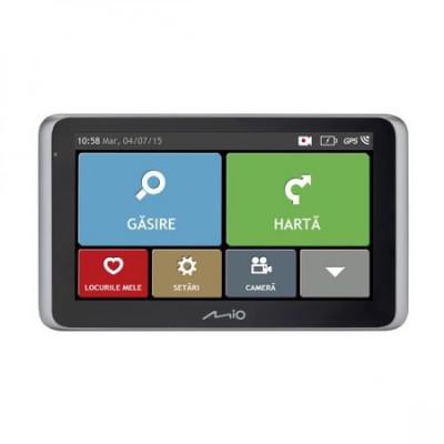 Sistem de navigatie + camera video integrata GPS Mio MiVue Drive 65 LM Truck foto