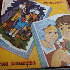 DISC VINIL PINOCCHIO / TOM DEGETEL - Muzica soundtrack
