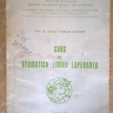 Ignat Florian Bociort - Curs de gramatica limbii esperanto