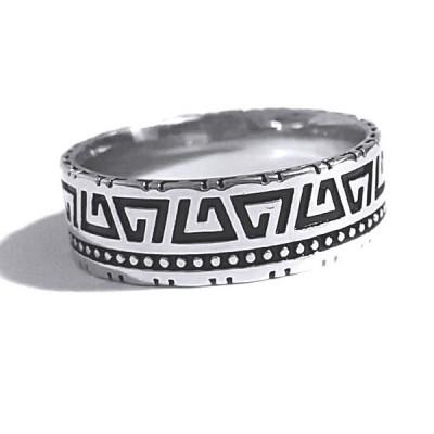 Inel argint 925 cu motive grecesti foto