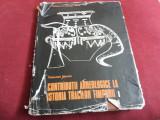 SEBASTIAN MORINTZ - CONTRIBUTII ARHEOLOGICE LA ISTORIA TRACILOR TIMPURII