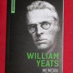 Memorii (Autobiografia) / William Butler Yeats - Biografie