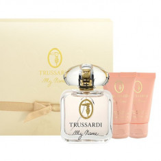 Apa de parfum Trussardi My Name Pour Femme Dama 30ML Edp 30ml + 30ml shower gel + 30ml body lotion - Parfum femeie
