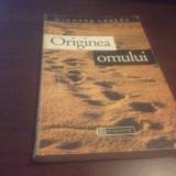 RICHARD LEAKEY, ORIGINEA OMULUI. HUMANITAS 1995, SERIA SCIENCE MASTERS