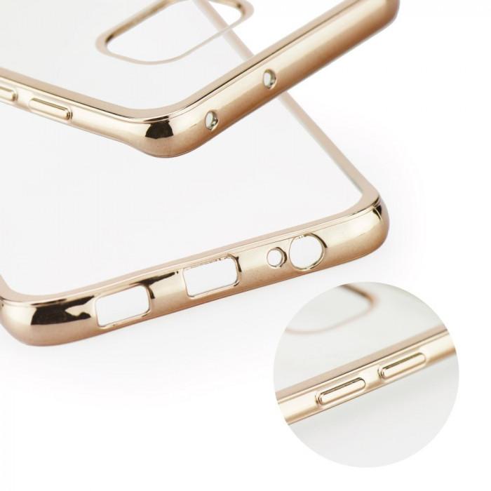 Husa Silicon, Electro Jelly, Samsung Galaxy A5 2016, Auriu