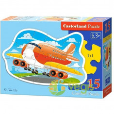 Puzzle 15 Castorland - So We Fly