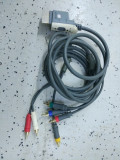 Cablu video xbox360 component 1080p fullhd, Cabluri