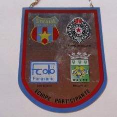 "Fanion fotbal-Turneul International ""Cupa STEAUA"" Bucuresti (23-24.07.1988)"