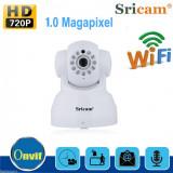 camera ip wireless hd 720P h264 sricam sp012 supraveghere copil casa night