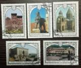 RUSIA 1978 - MONUMENTE ISTORICE DIN ARMENIA, serie stampilata, DB13