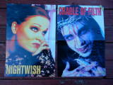 poster fata/verso 56/41cm Metal Hammer (Black Sabbath/Nightwish/Cradle of Filth)